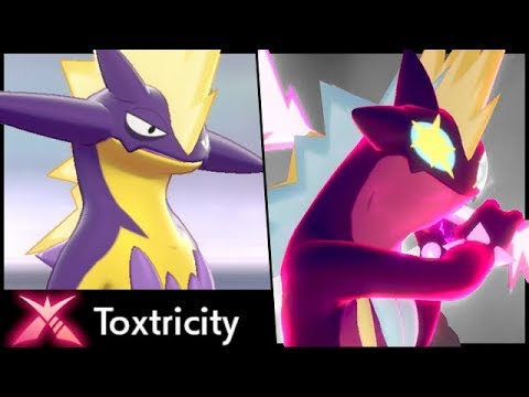 Gigantamax Toxtricity RAID EVENT! How To Get GMAX Toxtricity in Pokemon Sword and Shield