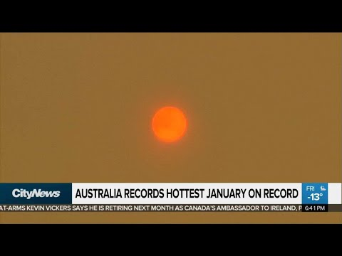 Australia Records Hottest January On Record