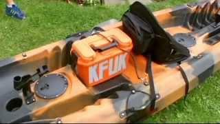 Galaxy Kayaks 2+1 Tandem Kayak