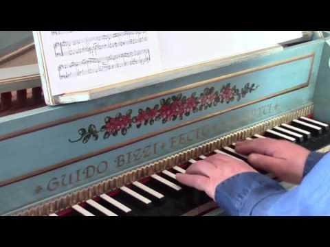 Pachelbel harpsichord suite 27 in D major
