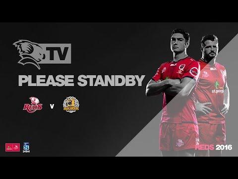St.George Queensland Reds v Highlanders - Media Conference