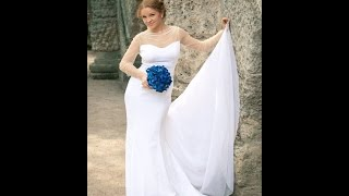 Свадьба Алёны Овсейчик в платье Elena Romanova