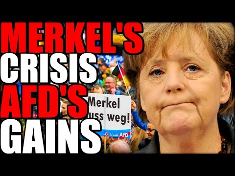 Merkel's Crisis AfD's rise   The Millennial Revolt