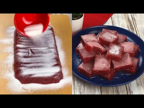 Strawberry jelly candies how to make them at home