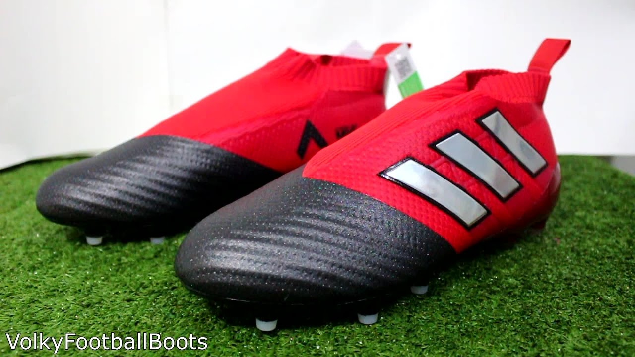 wholesale dealer dbd44 bd2c9 Adidas ACE 17+ PureControl (Red Limit) Unboxing  First Impression HD  (Thai) - YouTube