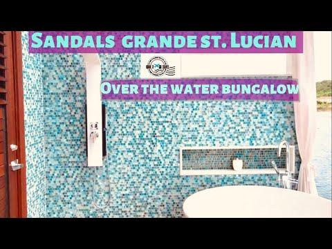 Over The Water Honeymoon Butler Bungalow (OWB) - Sandals Grande St. Lucian