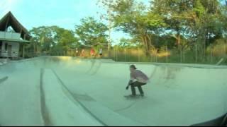 kaleb @ El Mutante Skatepark, Playa Negra, Guanacaste, Costa RIca.