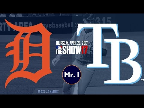 15 INNING THRILLER! (Detroit Tigers @ Tampa Bay Rays) - MLB The Show 17