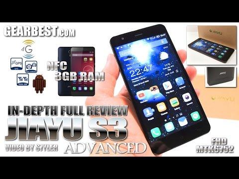 "Jiayu S3 Advanced, 3GB RAM, NFC (In-depth Review) 5.5"" IPS FHD, 4G/LTE, MTK6752 OctaCore 1.7GHz"