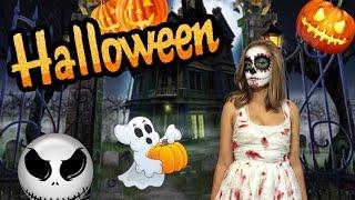DIY 2 в 1: Как легко сделать макияж и костюм на Halloween!(Большой выпуск-сюрприз на моем канале! Если ты еще не определился с костюмом на Хэллоуин, то я расскажу и..., 2015-10-26T12:13:16.000Z)