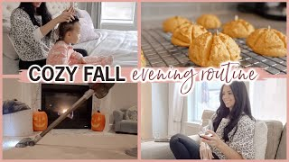 🍂 COZY FALL Eveฑing Routine 🍂 Mom Routine of Two