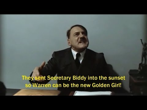 Hitler Reacts To DNC Rigging 2016 Primary For Clinton