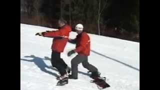 Урок 4  Видео как научиться кататься на сноуборде