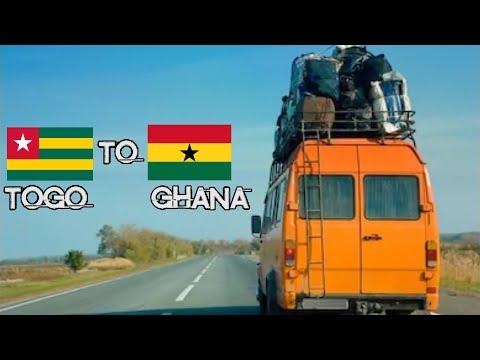 BORDER CROSSING, TOGO TO AFLAO BORDER, GHANA #GhanaVideos #GhanaTravelVideos #TogoVideos