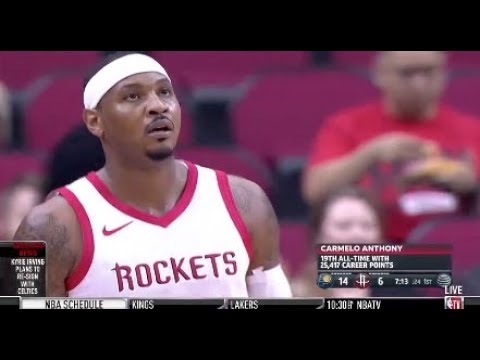 (LIVE) HOUSTON ROCKETS VS. INDIANA PACERS - 10/4/18 - GAME ANALYSIS/BREAKDOWN (NO FOOTAGE)