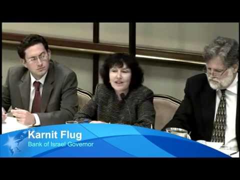 Karnit Flug Bank Of Israel Governor On Developing Israel