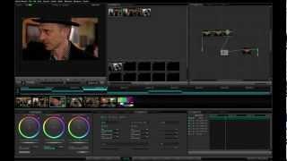 Tutor 01 09 Видеоурок по работе в DaVinci Resolve, приёмы цветокоррекции.