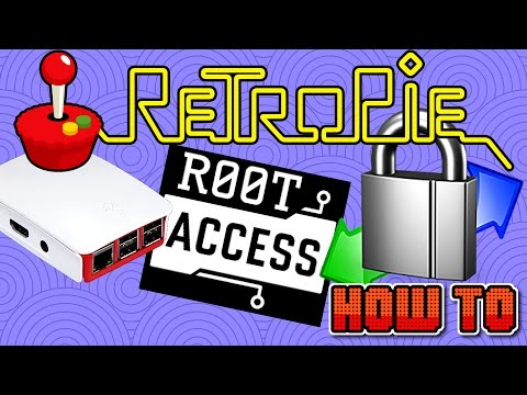 Retropie Root Acces Winscp