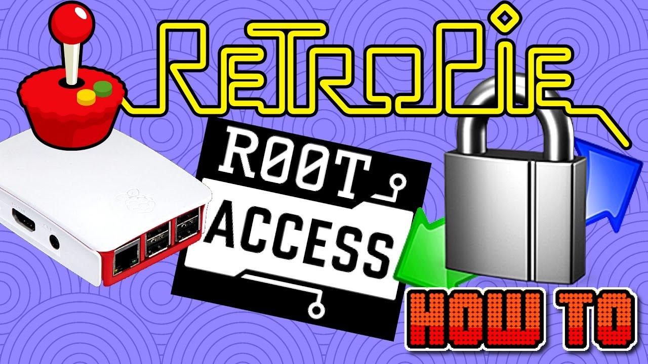 Retropie Root Acces Winscp