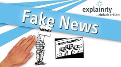 Fake News einfach erklärt (explainity® Erklärvideo)
