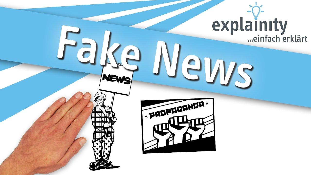fake news einfach erkl rt explainity erkl rvideo youtube. Black Bedroom Furniture Sets. Home Design Ideas