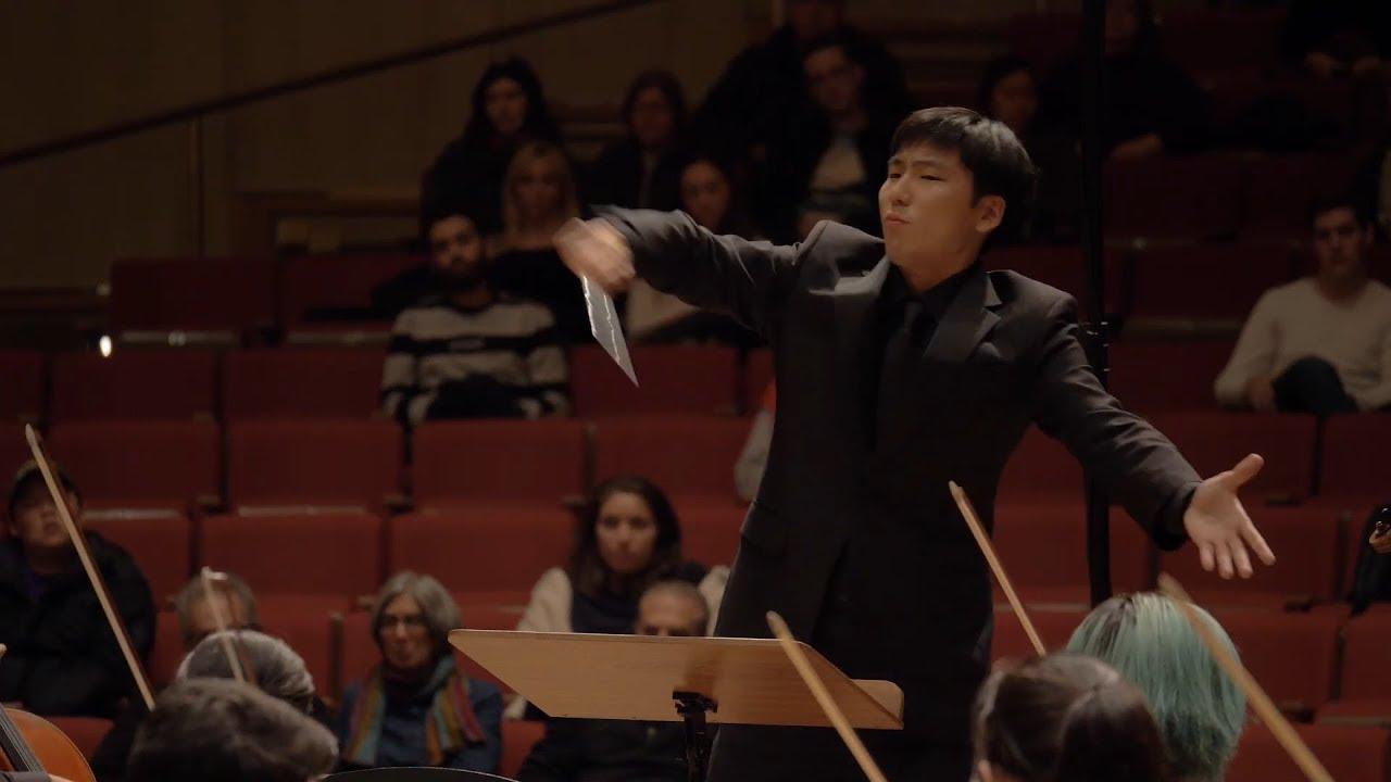Taichi Fukumura Excerpts, Bartok Violin Concerto No. 2