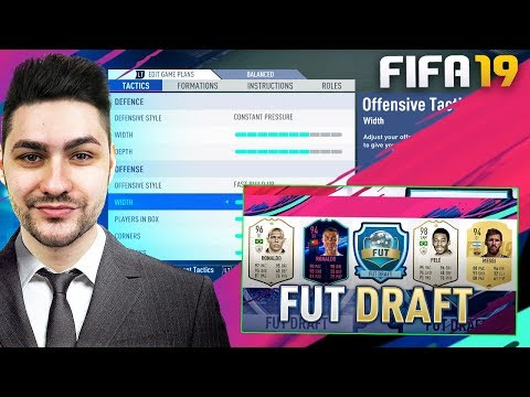 FIFA 19 BROKEN FORMATION !!!! YOU NEED TO TRY THIS OUT !!! DRAFT TO GLORY #2 thumbnail