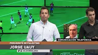 Jorge Uaui , Presidente de Palestino, habló sobre donde hará de local el club chileno