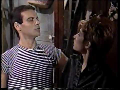 cenas da novela Olho por Olho (Rede Manchete, 1988)