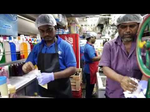 4K Mumbai Street Food Girgaon Chowpatty Khau Galli