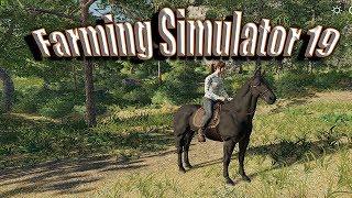 Farming simulator 19 | My Horse Named Beast!
