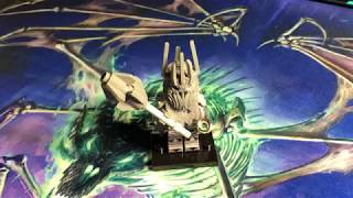 Lego Lord of the Rings Custom Sauron Minifigure Review (обзор на русском)