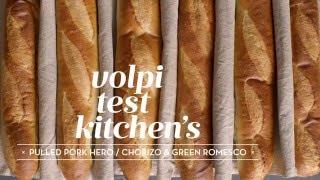 The Best Pulled Pork Hero with Chorizo & Green Romesco Recipe