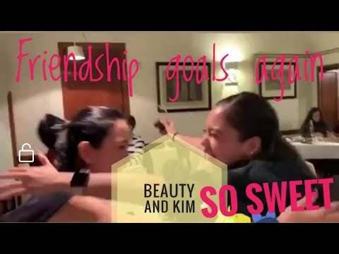 (Trending) Kim Chiu And Beauty Gonzales, Reunited, Friendship Goals Sa Rome, CHIURIGOGOBASHU FEELS
