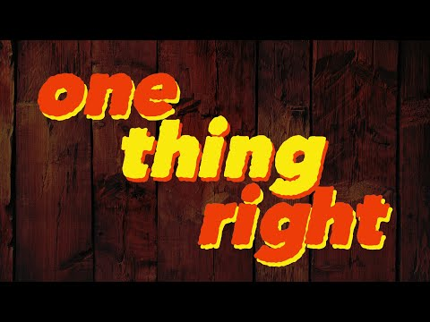 marshmello-x-kane-brown---one-thing-right-[lyrics]-(official-lyric-video)