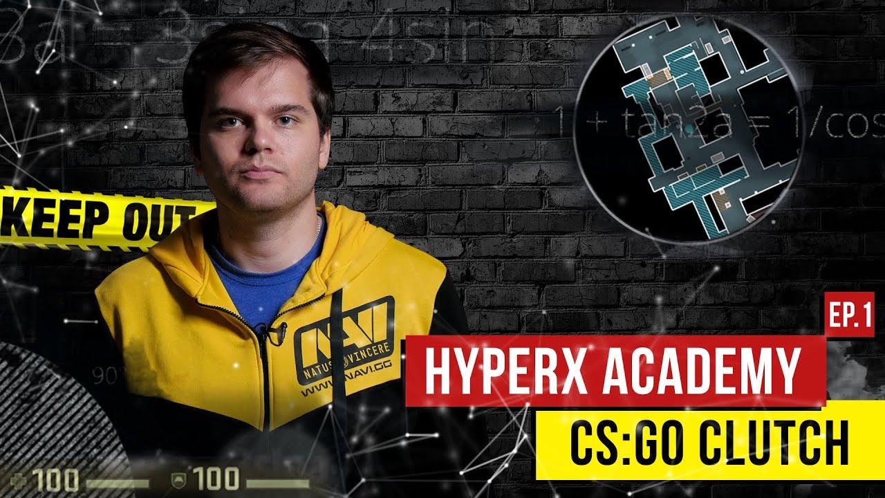 HyperX Academy. CS:GO Анализ Clutch от Арсения «CeH9» Триноженко.