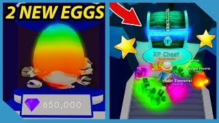 NEW UPDATE! XP ISLAND LAYER AND 2 *NEW* EGGS in ROBLOX BUBBLE GUM SIMULATOR