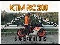 KTM RC 200 Specifications l Walkaroud l Exhaust Sound [Ktm Philippines]