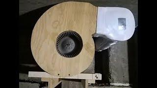 Вытяжка-улитка из вентилятора печки авто своими руками