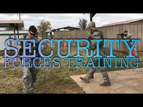 U.S Air Force Security Forces Training!   Sustainment Firing, Positioning Movements