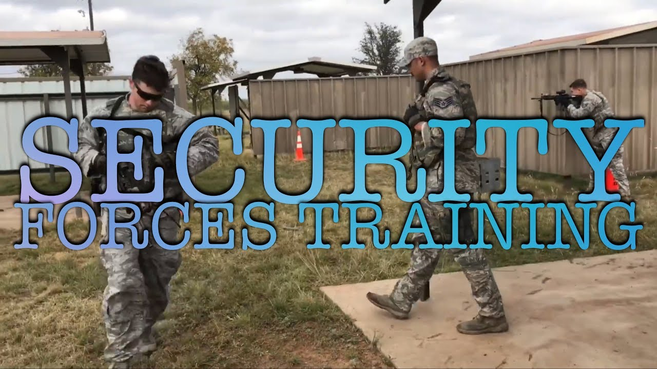 US Air Force – Security Forces Sustainment Training