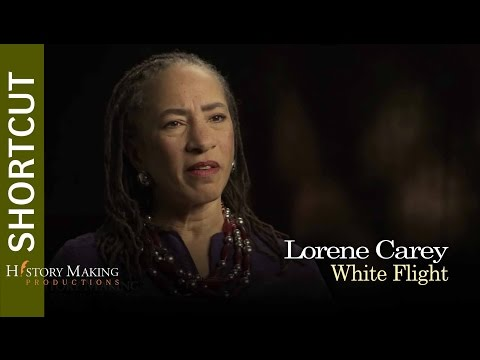 Lorene Cary on White Flight