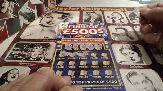 What a win!!!!!.......WINNING 777...LUXURY LINES....V.I.P...Scratchcards..ONE NOT TO MISS??