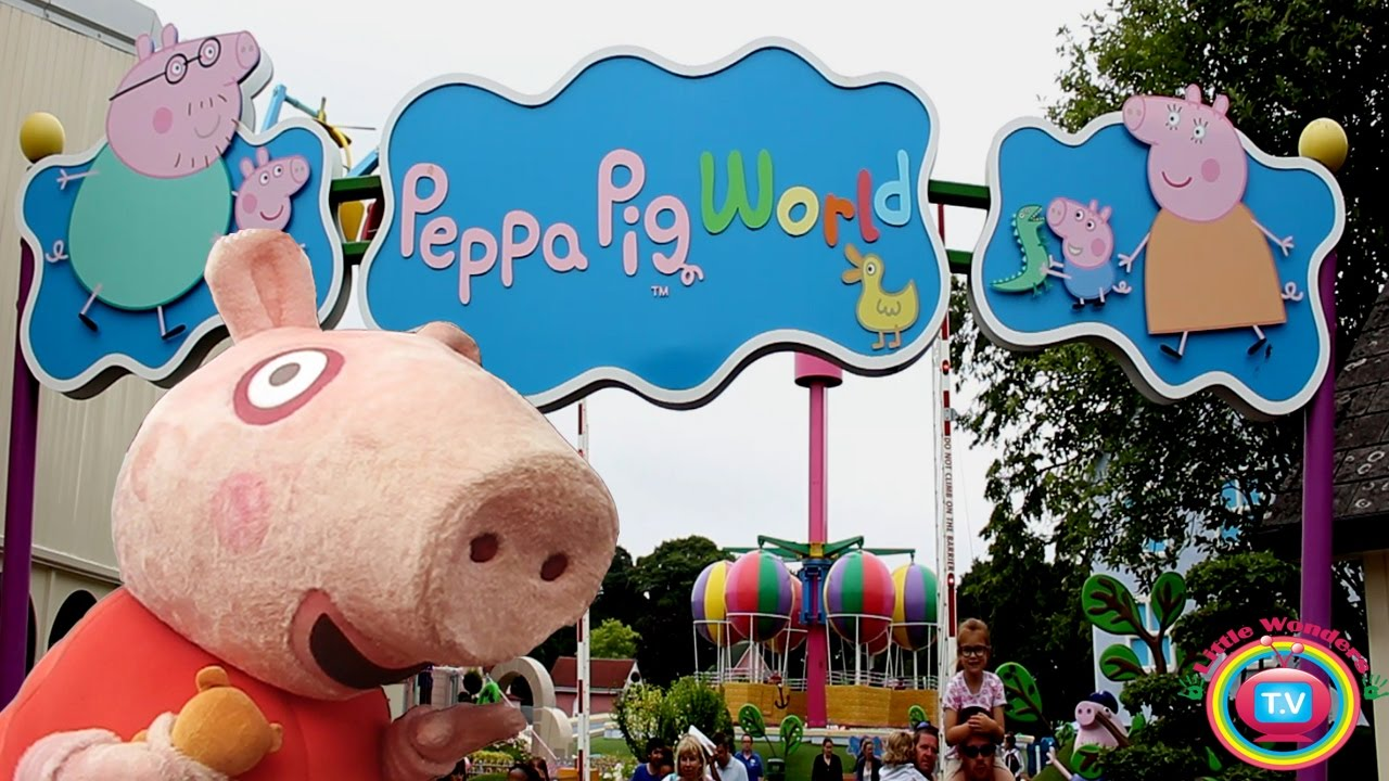 Peppa Pig World Peppa Pig Theme Park Paulton S Park