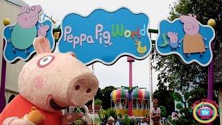 PEPPA PIG WORLD! Peppa Pig Theme Park - Paulton&#39s Park
