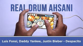 Luis Fonsi, Daddy Yankee, Justin Bieber - Despacito ( Real Drum Cover by Ahsani ) Mp3
