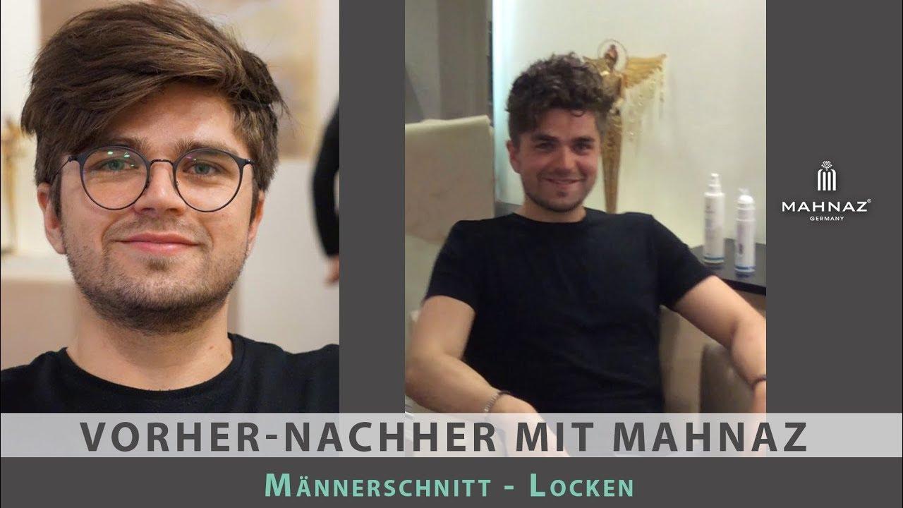 """Typberatung """"Männer Frisur"""": Dauerwelle für Männer (Umstyling  Vorher/Nachher)"""