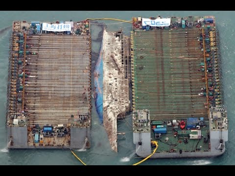Shanghai Salvage - Sewol ferry salvage operation explained