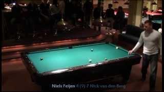 (2/2) Niels Feijen vs Nick van den Berg- Semi final Hilversum Open 2012 -9ball-