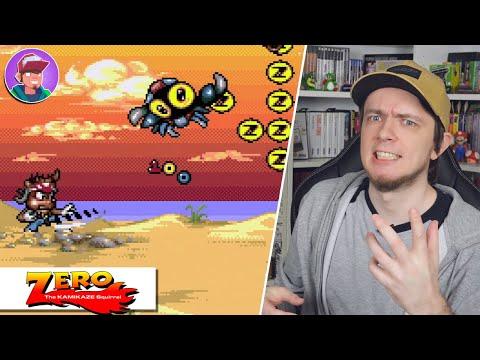 Zero The Kamikaze Squirrel (Sega Mega Drive / Genesis) / Обзор
